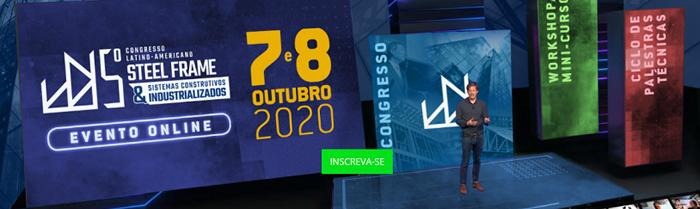 SteelFrame Congresso Online - Outubro 2020