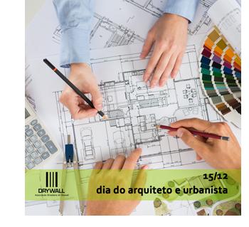 15/12 - Dia do Arquiteto e Urbanista