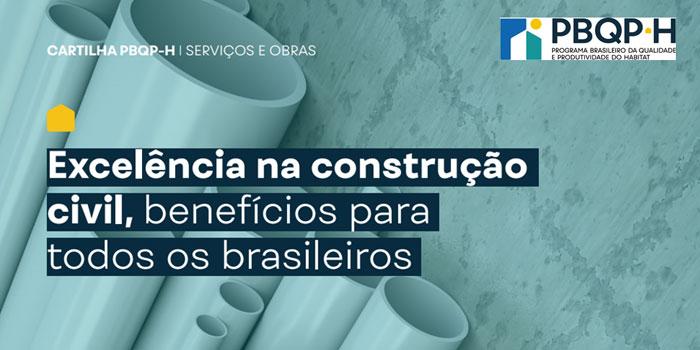 MDR lança cartilhas com melhores práticas para o setor da construção civil