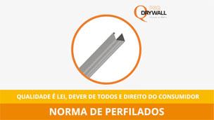 Normas de perfilados Drywall