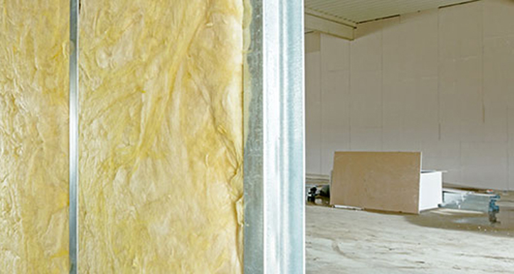 Paredes duplas de drywall podem elevar o desempenho acústico de construções