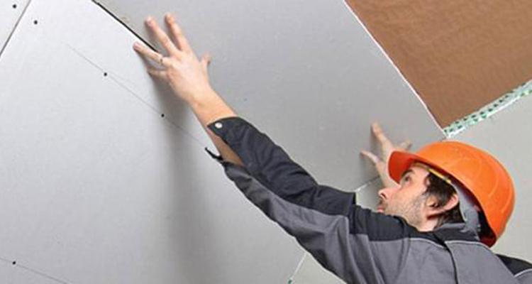 Forro de drywall é versátil e durável