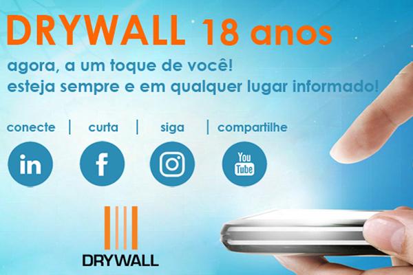 Associação Drywall chega aos 18 anos ampliando suas ações