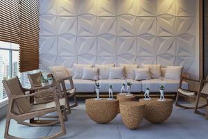 Read more about the article Novidades em revestimentos da EXPO REVESTIR também podem ser usadas sobre drywall