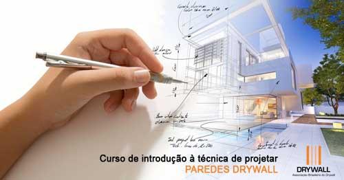 Curso de introdução à técnica de projeto> paredes drywall