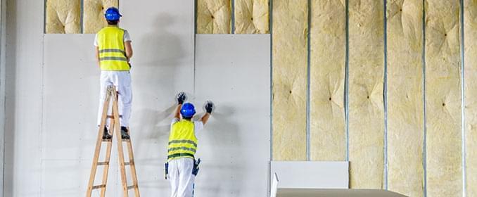 Conforto acústico do drywall depende da combinação com outros materiais